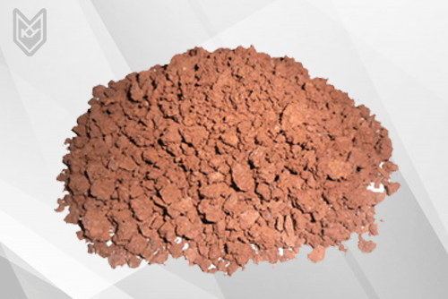 Metallurgical clay